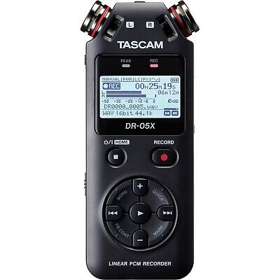 Tascam DR-05X Stereo Handheld Digital Audio Recorder & Interface (C-STOCK)