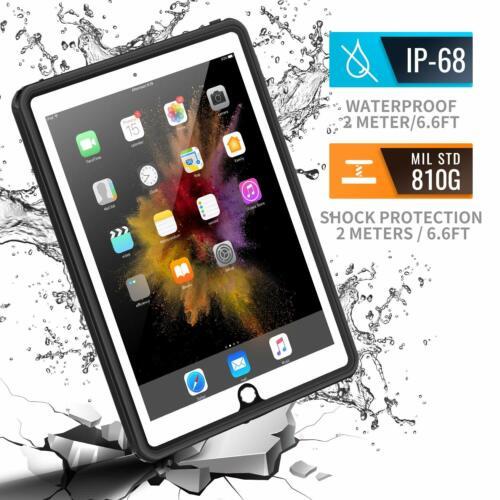 "iPad 9.7""  Case Military Grade Full-Body Rugged Screen Prote"