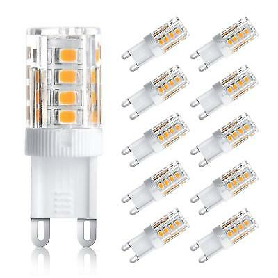 G9 Led (10x G9 Led Birne 5W 33 SMD 2835 führte Energiesparlampen Super Bright AC 220-240)
