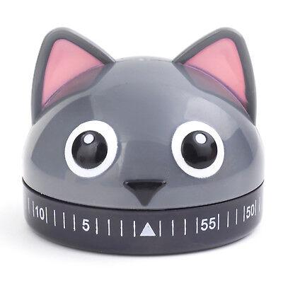 Eieruhr Katze Küchentimer Kätzchen Kurzzeitmesser Kurzzeitwecker Backuhr  (Kätzchen Wecker)