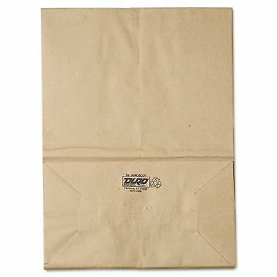 Grocery Paper Bags #57 Brown Kraft 500 ct. Duro 1/6 Square Bottom
