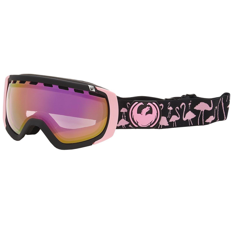 Dragon Rogue Goggles Winter Ski Snow Goggles Ionized Lens Flamingos/Pink Ionized