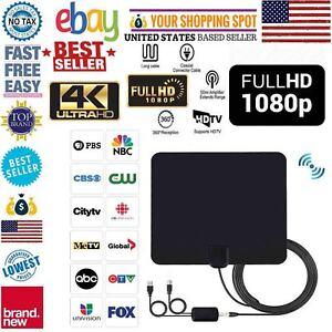 DIGITAL ANTENNA TV HDTV 60-80 MILES LONG RANGE HQ INDOOR ANTENA Freeview