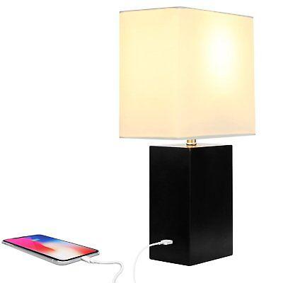 Brightech Mode LED USB Side Table & Desk Lamp – Modern Lam
