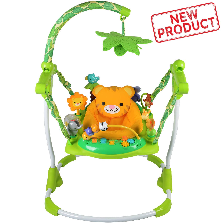 Creative Baby Jumper Bouncer Activity Seat Safari Theme FREE