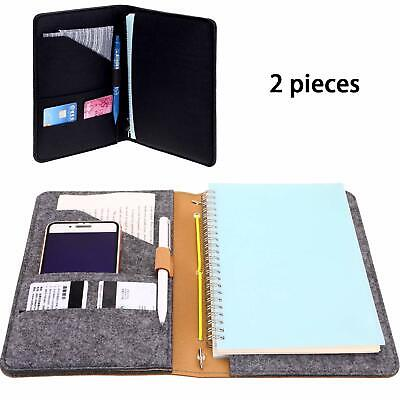 2 Pieces Leather Notepad Cover For Rocketbook Notebook Covers With Pen