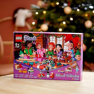 LEGO FRIENDS 41420 Christmas Advent Calendar MINIFIGURES 24 Gifts 2020 NEW