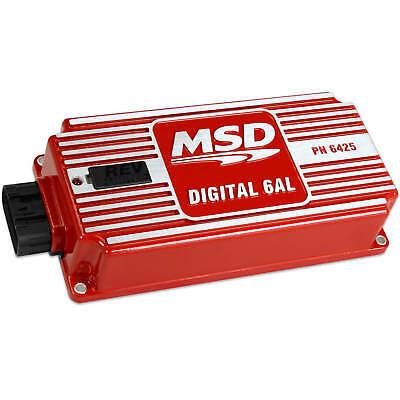 MSD 6425 Digital 6AL Ignition Control. Includes a built-in rev limiter.