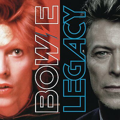 DAVID BOWIE 'LEGACY' (The Very Best Of) Double 180g VINYL LP (2017)