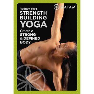 Yoga EXERCISE DVD - Strength Building Yoga DVD - Rodney Yee!