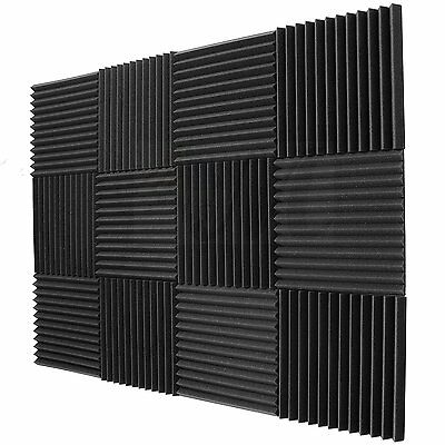 Absorption Panels (Room Sound Striped Absorption Treatment Acoustic Foam Wall Panels 12