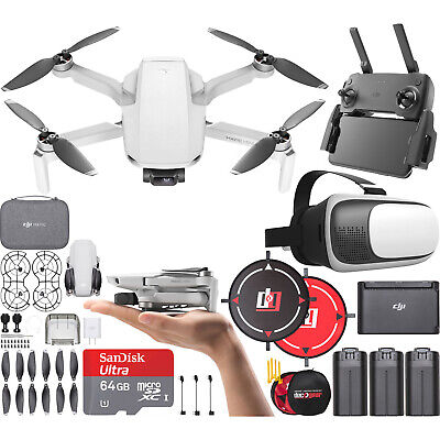 DJI Mavic Mini Drone Quadcopter Fly More Combo CP.MA.00000123.01 Headset Bundle