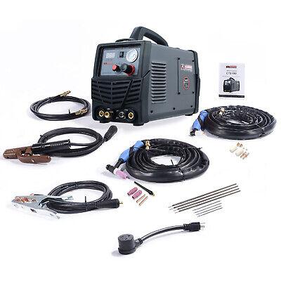 Cts-180 180a Tig-torch 160a Stick Dc Welder 40a Plasma Cutter 3-in-1 Welding