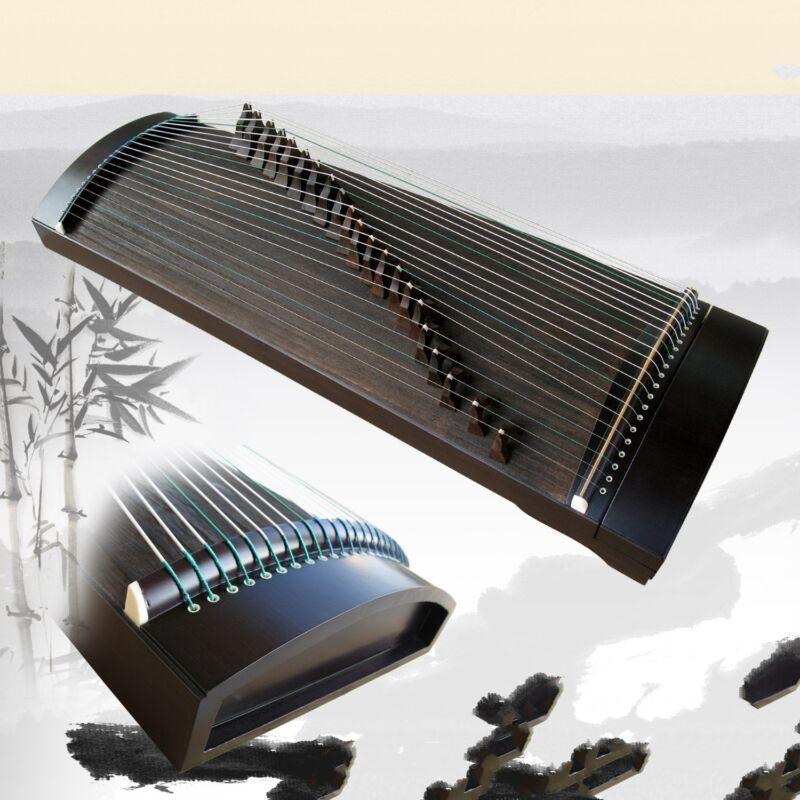 "35"" Gu Zheng Harp Traditional Chinese Musical Instrument Chinese Zither #t067"