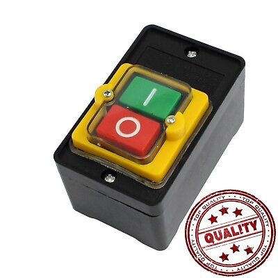 380v Waterproof Home Outdoor Switch On Off Start Stop Push Button Single Phase