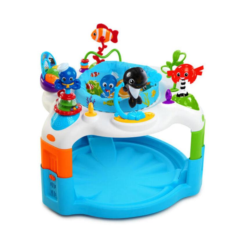 Baby Einstein Rhythm of the Reef Activity Saucer Bouncer Adjustable Play Center