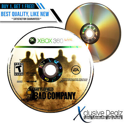 Battlefield: Bad Company Xbox 360 Shooter Video Game- Best Quality on eBay (Best Xbox Party Games)