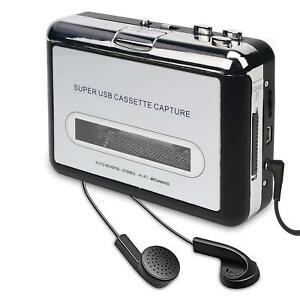 Walkman Portable USB Audio Cassette Tape Converter to iPOD MP3 CD Player