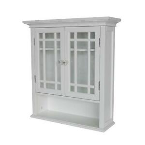 White Kitchen Wall Cabinet