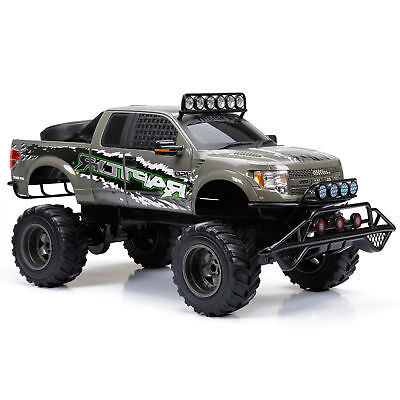 New Bright RC Model 1:6 Scale Ford Raptor Truck (Gray) Best Remote Control Toy