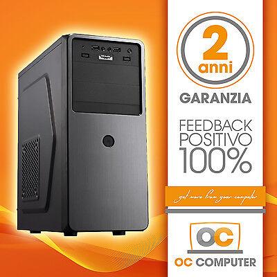 PC DESKTOP COMPUTER COMPLETO ASSEMBLATO INTEL CORE I7 4790/RAM 16GB/HD 1TB/WIFI usato  Italia