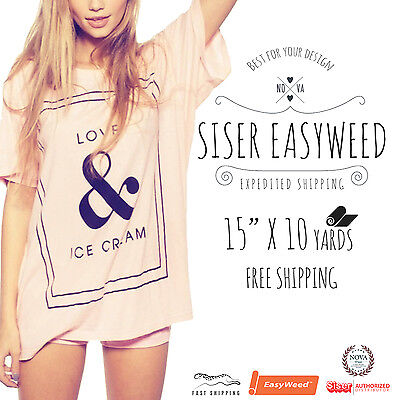 Siser Easyweed 15 X 10 Yards Free Shipping Select Up To 10 Colors