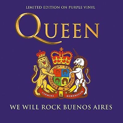 QUEEN - WE WILL ROCK BUENOS AIRES: LIMITED EDITION ON PURPLE VINYL