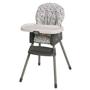Graco Simple Switch High Chair Lambert Brand New Free