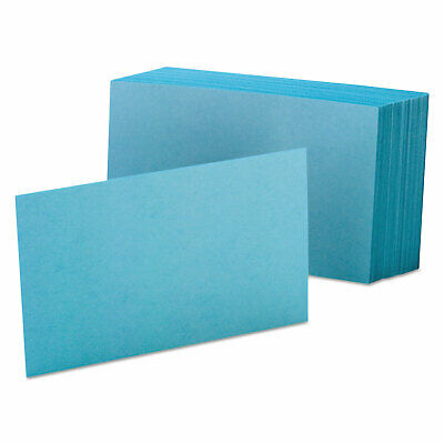 Oxford Unruled Index Cards 4 X 6 Blue 100pack 7420blu