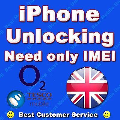 UNLOCK Service for iPhone 7 & 7 PLUS O2 & Tesco UK.