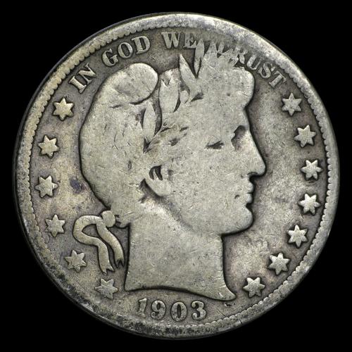 Best  1903-O BARBER HALF DOLLAR GOOD - SKU#13703