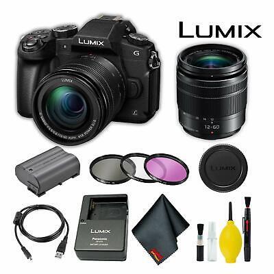Panasonic Lumix DMC-G85MK Mirrorless Digital Camera +12-60mm Lens Basic Bundle