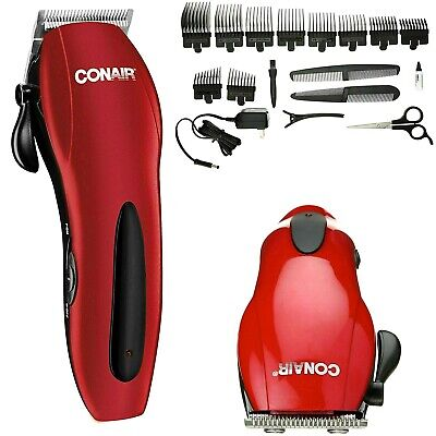 Conair Cordless Hair Cut Kit Machine de découpe Coupe de cheveux Barber Clipper Trimmer Set