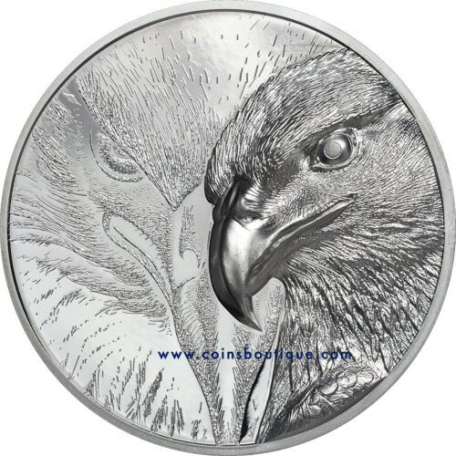 Majestic Eagle Silver 1oz High Relief Double Sides Silver Coin Proof 2020
