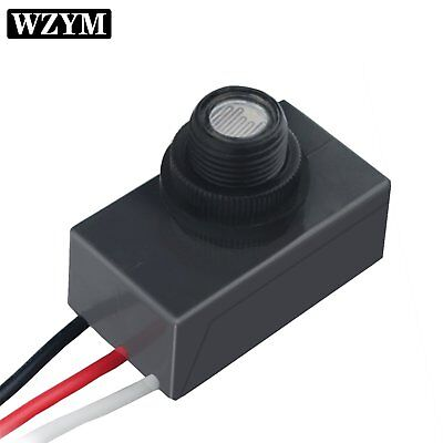 120-277v Led Photocell Dusk To Dawn Outdoor Swivel Cell Light Control Photocell