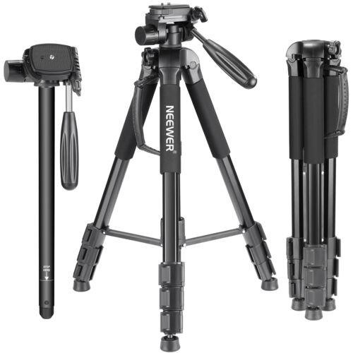 Neewer Portable 70 inches Aluminum Alloy Camera Tripod Monopod for Canon Nikon