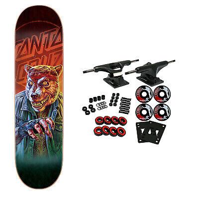 "Santa Cruz Skateboard Complete The Worst Werewolf Biker Everslick 8.0"" x 31.6"""