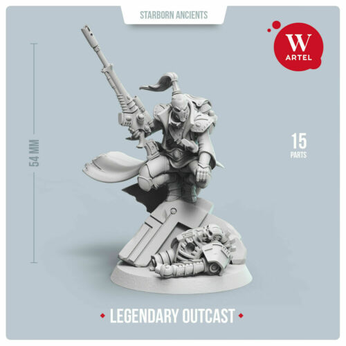 The Legendary Outcast Artel W Craftworld Eldar Rangers Illic Nightspear