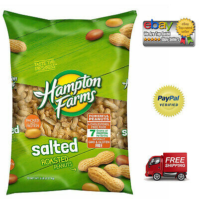 Peanuts Salted Shell - Hampton Farms Salted In-Shell Peanuts (5 lbs.) *Best Deals In US*