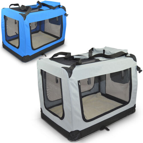 Hundebox Hundetransportbox Transport Box Transporthütte Tierbox Reisebox Faltbar