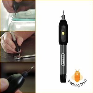 ENGRAVING PEN Etching Tool Metal Glass Wood Jewelry DIY Cordless Engraver Carve