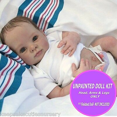 REBORN  Baby KIT  Dumplin unpainted vinyl  to make your own doll FREE GIFT