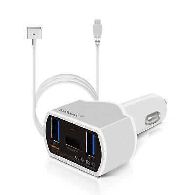- BatPower 110W MacBook Pro Car Charger Power Supply Adapter Apple MacBook Air Mac