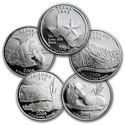 1999 2008 200 Coin 50 State Quarter Complete Set  Dansco Albums    Sku  42495