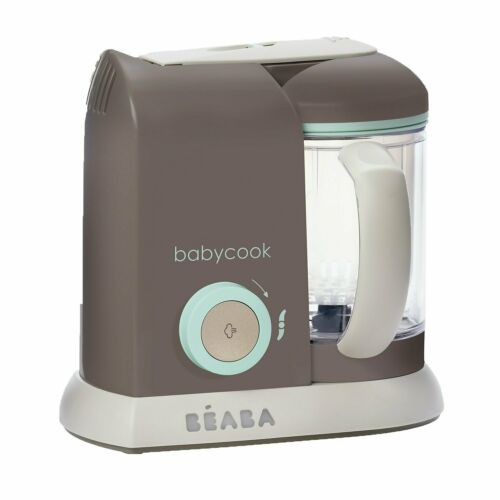 BEABA Babycook 4 in 1 Steam Cooker and Blender, 4.5 cups, Latte Mint