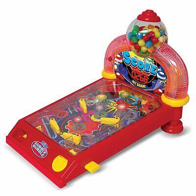 Dubble Bubble Arcade Mini Tabletop Pinball Machine & Bubble Gum Candy Dispenser