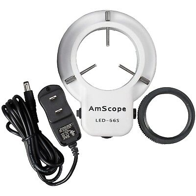 Amscope Led Microscope Ring Light Illuminator With Dimmer
