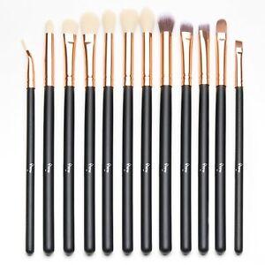 As Morphe Set - 12Pcs Eye Brush Set, Cosmetics Eyeliner Eyeshadow Brushes