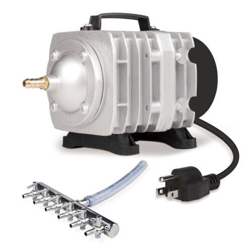 VIVOSUN 950 GPH O2 Air Pump 6 Outlets for Aquarium Fish Tank Hydroponic Pond 32W