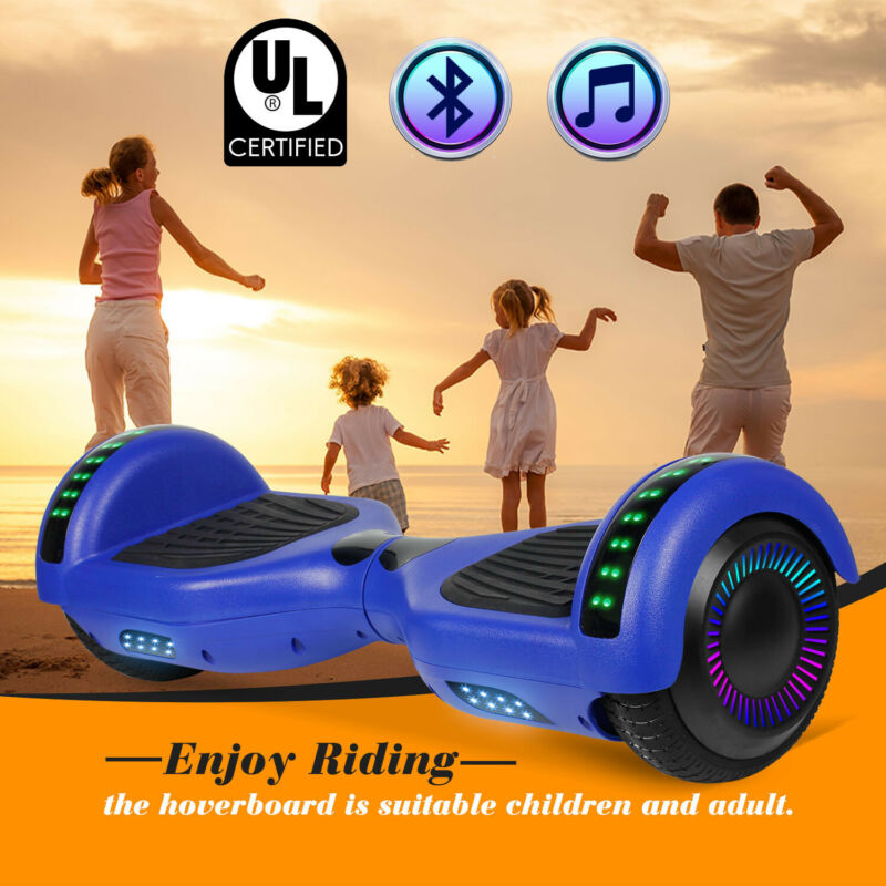 """6.5"""" Bluetooth Hoverboard for Kids Electric Scooter Balance"""